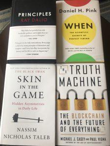ハーバードで購入した本
